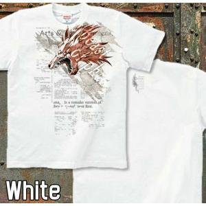 Tシャツ 狼 ウルフ 半袖 長袖 XS S M L XL XXL XXXL 2L 3L 4L サイズ メンズ レディース HOUND WOLF|genju|05
