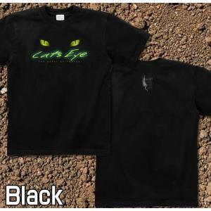 Tシャツ 猫 半袖 長袖 XS S M L XL XXL XXXL 2L 3L 4L サイズ メンズ レディース Cats Eye|genju|03