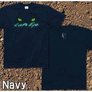 Tシャツ 猫 半袖 長袖 XS S M L XL XXL XXXL 2L 3L 4L サイズ メンズ レディース Cats Eye|genju|04