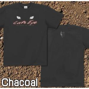 Tシャツ 猫 半袖 長袖 XS S M L XL XXL XXXL 2L 3L 4L サイズ メンズ レディース Cats Eye|genju|06