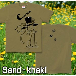メール便なら送料180円〜 Tシャツ 猫/ネコ 長袖あり XS S M L XL XXL 2L 3L Magical Cat|genju|06