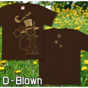 メール便なら送料180円〜 Tシャツ 猫/ネコ 長袖あり XS S M L XL XXL 2L 3L Magical Cat|genju|08