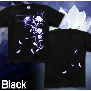 Tシャツ 花柄 きれいめ 半袖 長袖 XS S M L XL XXL XXXL 2L 3L 4L サイズ メンズ レディース Precious|genju|05