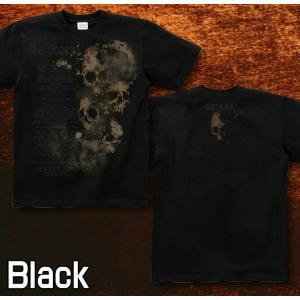 Tシャツ スカル メタル ロック 半袖 長袖 XS S M L XL XXL XXXL 2L 3L 4L サイズ メンズ レディース 不死者|genju|04