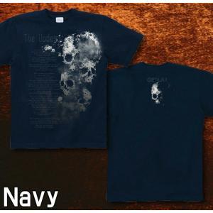Tシャツ スカル メタル ロック 半袖 長袖 XS S M L XL XXL XXXL 2L 3L 4L サイズ メンズ レディース 不死者|genju|05