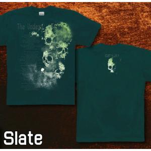 Tシャツ スカル メタル ロック 半袖 長袖 XS S M L XL XXL XXXL 2L 3L 4L サイズ メンズ レディース 不死者|genju|06