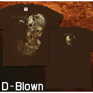 Tシャツ スカル メタル ロック 半袖 長袖 XS S M L XL XXL XXXL 2L 3L 4L サイズ メンズ レディース 不死者|genju|08