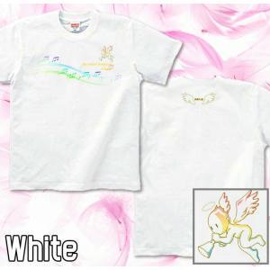 Tシャツ 天使 半袖 長袖 XS S M L XL XXL XXXL 2L 3L 4L サイズ メンズ レディース Angel Voice|genju|04