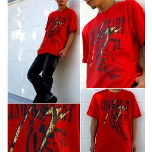 Tシャツ 虎 タイガース 半袖 長袖 XS S M L XL XXL XXXL 2L 3L 4L サイズ メンズ レディース Kings Heart|genju|02