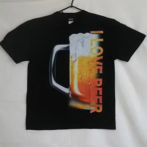 Tシャツ ワケ有り 激安 半袖 Lサイズ ビール 生ビール 処分品 廃盤 B級品  ロットアウト アウトレット 等 得トク2WEEKS0410 genju