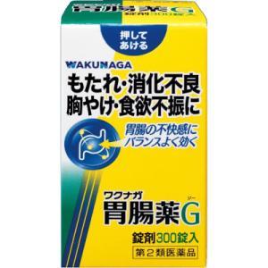 「送料無料」「ポイント15倍」湧永 ワクナガ胃腸薬G 300錠(第2類医薬品)