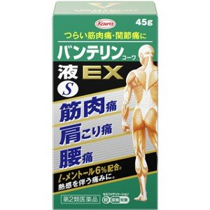 【第2類医薬品】興和 バンテリンコーワ液EX(S) 45g