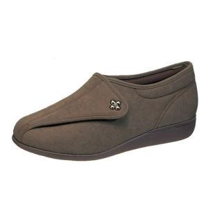 介護靴 婦人用 快歩主義L011(オーク)アサヒコーポレーション