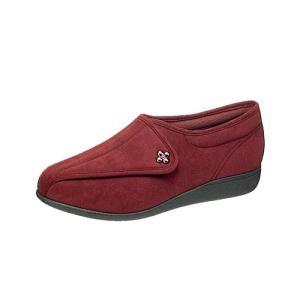 介護靴 婦人用 快歩主義L011(マロン)アサヒコーポレーション