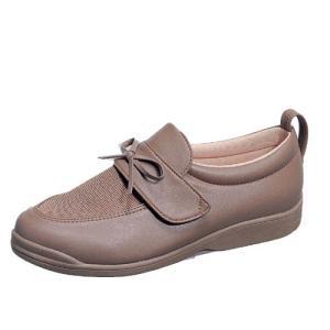 婦人用パステル302(グレージュA)ムーンスター 介護靴