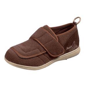 男女兼用 パステル403(ブラウン)ムーンスター 介護靴