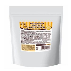 名糖産業 Ca入りかんたんプリンの素 325g|genki