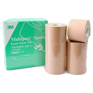 3M マルチポア スポーツ レギュラー伸縮固定テープ(2743-50) 50mm×5m 6巻