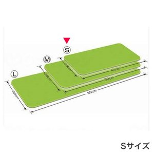 シンエイテクノ ダイヤストップマット グリーン Sサイズ 28cm×44cm