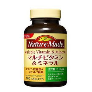 ネイチャーメイド マルチビタミン&ミネラル(100粒入・50日分)