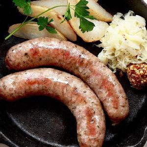元気豚 粗挽きハーブフランク(黒胡椒入) 10本入(900g〜1kg)|genkibuta
