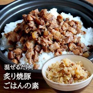元気豚 炙り焼豚ごはんの素 200g(混ぜごはん・2合分)|genkibuta