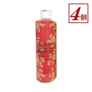ダイイチ ヘナ・ナチュラルハーブ・シャンプー(300ml)ブラウン 4個 (ノンシリコン)|genkilife