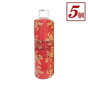 ダイイチ ヘナ・ナチュラルハーブ・シャンプー(300ml)ブラウン 5個 (ノンシリコン)|genkilife