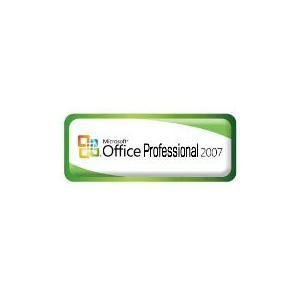 【MS-Office DSP版】Microsoft Office Professional 2007