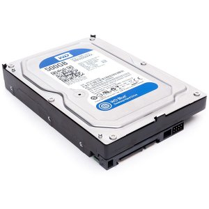 500GB WesternDigital 3.5インチHDD [WD5000AAKX] (Serial ATAIII/7200rpm / 16MB)