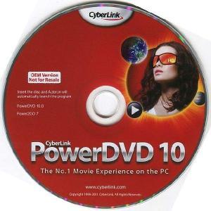 CyberLink PowerDVD10/P2GO BD&DVD書込み BDXL対応/3D対応 OEM版