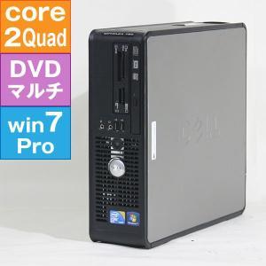【良品中古パソコン・デスクトップ】 DELL OPTIPLEX 780 (Core2Quad Q9550 2.83GHz/ 4G/ 320G/ DVDスーパーマルチ/ Win7Pro64bit)