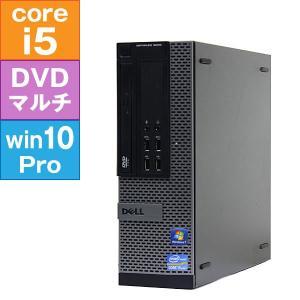 【良品中古パソコン・デスクトップ】DELL Optiplex 9010 SFF (Core i5-3550 3.3GHz/ メモリ4GB/ HDD250GB/ DVDスーパーマルチ/ 10Pro64bit)|geno