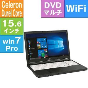 富士通 15.6型 LIFEBOOK A576/PX [FMVA1603FP] (Celeron 3855U 1.60GHz/ メモリ2GB/ HDD500GB/ DVDスーパーマルチ/ Wifi(ac),BT/ 7Pro32bit(10ProDG))|geno
