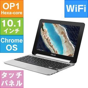 ASUS クロームブック 10.1インチ Chromebook Flip メモリ4GB eMMC32GB OP1 Hexa-core Chrome OS C101PA-FS003 メーカーリファビッシュ品|geno