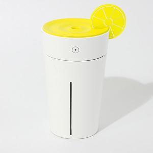【送料無料】USB電源 ポータブル加湿器 Lemon [HP-832Y] イエロー geno