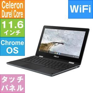 【リファビッシュ】ASUS 11.6型 Chromebook Flip C214MA [C214MA-BU0029] (Celeron N4000 1.1GHz/ メモリ4GB/ eMMC32GB/ Wifi(ac),BT/ Chrome OS)|geno