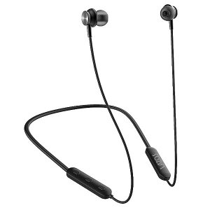 リーダーメディアテクノ Lazos Bluetoothイヤホン [L-BT-EB] (USB充電/ マイク内蔵) ブラック|geno