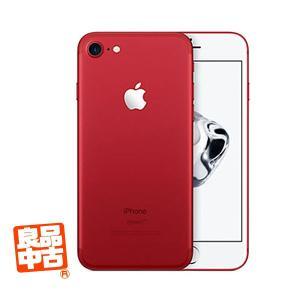 【良品中古】Apple iPhone7 SIMフリー 256GB A1779 レッド