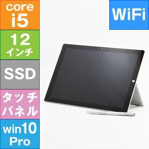【中古・タブレットPC】 Microsoft Surface Pro 3 (Core i5-4300U 1.9GHz/ メモリ4GB/ ストレージ128GB/ Wifi(ac),BT/ 10Pro64bit)※画面キズ・シミあり|geno