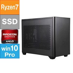 GENOゲーミングPC Mini-ITX型 (Ryzen 7 5800X 3.8GHz/ メモリ16GB/ SSD500GB/ Radeon RX6800OC/ 10Pro64bit)|geno