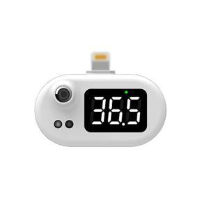 スマホ外付け赤外線体温センサー Lightning接続 [iOS K8]|geno