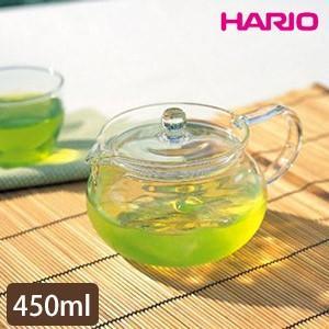 HARIO ハリオ 茶茶急須 丸 耐熱ガラス製 CHJMN-45T|源宗園