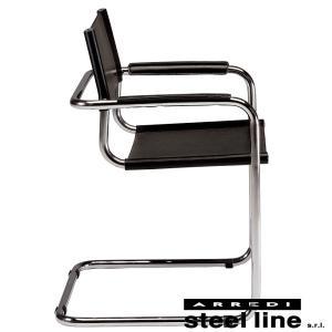 マルト・スタム S34アームチェア スティールライン社DESIGN900 (steel line)|genufine-store