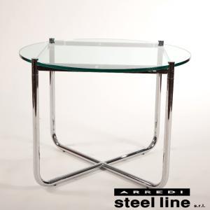 ミース・ファン・デル・ローエ MRコーヒーテーブル スティールライン社DESIGN900 (steelline)|genufine-store