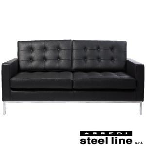 フローレンス・ノール ソファ2P スティールライン社DESIGN900 (steel line) genufine-store