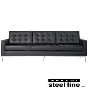 フローレンス・ノール ソファ3P スティールライン社DESIGN900 (steel line)|genufine-store
