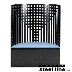 C.R.マッキントッシュ WILLOW1チェア(ファブリック仕様) スティールライン社DESIGN900 (steel line)|genufine-store