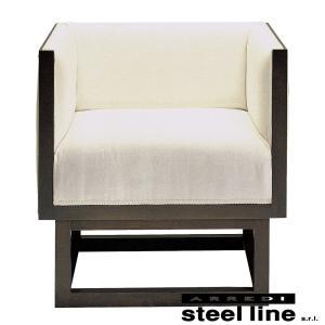 ヨーゼフ・ホフマン キャビネットソファ1P スティールライン社DESIGN900 (steelline)|genufine-store