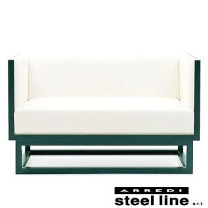 ヨーゼフ・ホフマン キャビネットソファ2P スティールライン社DESIGN900 (steel line) genufine-store